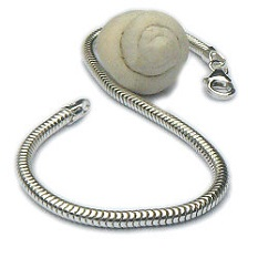 Zilveren slangenarmband 3 mm dik
