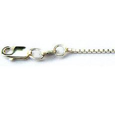 Zilveren ketting venetiaans 1.1 mm in diverse lengtes