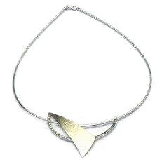Handgemaakt zilveren halssieraad Libertad van edelsmid Flamenco