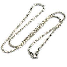 Zilveren koordcollier met facetjes 2 mm