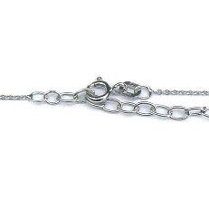 Zilveren anker ketting met verlengstukje