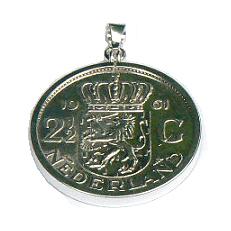 Rijksdaalder in zilveren muntrand