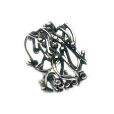 Handgemaakte zilveren ring Es vedra van goudsmidsatelier Flamenco