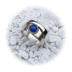 Handgemaakte zilveren ring Alegre van flamencosieraden.nl