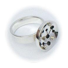Handgemaakte zilveren design ring Bolero van flamencosieraden.nl
