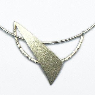 Fraai uitgevoerd zilveren halssieraad Libertad