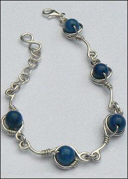 Handgemaakte zilveren armband Mediterraneo by Flamenco