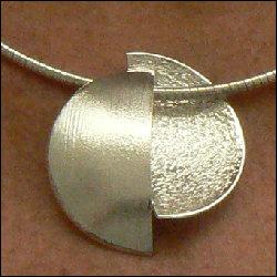 Zilveren halssieraad Diferencia handmade