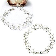 Handgemaakt zilveren collier met armband El meandro ontworpen en uitgevoerd door goudsmidsatelier Flamenco