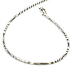 Zilveren slangenarmband