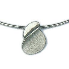 Moderne zilveren design hanger