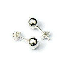 Zilveren oorknopjes ballen