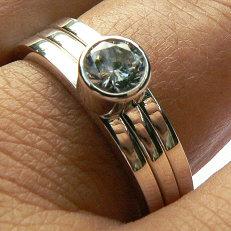 Zilveren Amigos ringen set inspiratie
