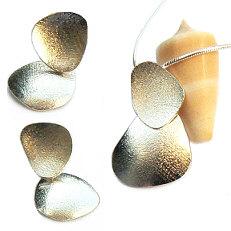 Handgemaakte zilveren set Tierra fuerte by Flamenco