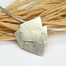 Handgemaakte zilveren hanger Deseo soñado