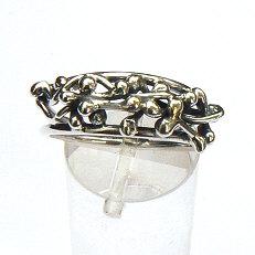 Handgemaakte zilveren ring van atelier Flamenco Coco